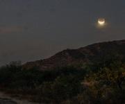 La superluna, luna azul y un eclipse se juntaron esta madrugada