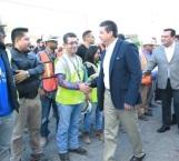 Atestigua Cabeza de Vaca avance en construcción del nuevo Consulado en Matamoros