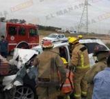 Choque deja saldo de dos lesionados en Altamira