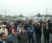 Bloquean agricultores carretera Reynosa - Río Bravo