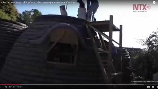 Iniciativa de mexicanos calificados en el extranjero para casas antisísmicas