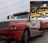 Interceptan en Carretera a Reynosa tráiler con armas y equipo táctico