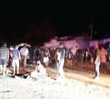 Mueren 13 en desplome  de helicóptero, Murat y Navarrete  ilesos