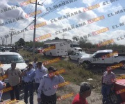 Bloquean productores entrada a Sagarpa y carretera Reynosa-Río Bravo