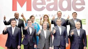 Beltrones y Osorio van con Meade