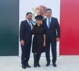 Conmemoran el día de la Bandera en Ciudad Madero
