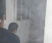 Dantesco incendio consume gran parte del Centro de Salud