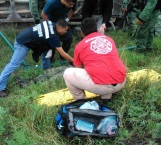 Reportan estables y a militares lesionados en volcadura