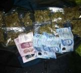 Hallan a menor mariguana en mochila