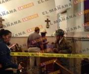 Explota bomba casera en iglesia de Matamoros