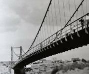 Historia del Antiguo Puente de Suspensión San Pedro-Roma