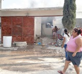 Fuego acaba con patrimonio de una familia