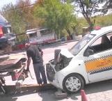 Lesionadas 2 pasajeras de un taxi