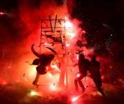 'Toritos de Tultepec salen a las calles para honrar a su patrón