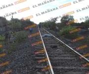 Obrero muere arrollado por el tren y una mujer perece atropellada por camioneta
