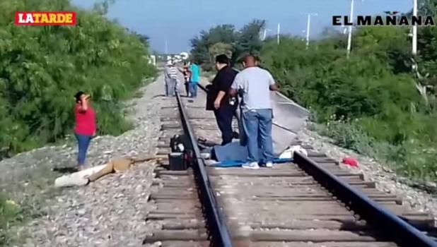 Obrero muere arrollado por el tren