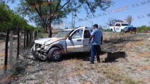 Vuelca familia en libramiento Oriente de Reynosa