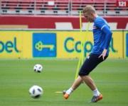 Entrenamiento de la selección de Islandia