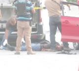 Tres muertos en persecución y balacera
