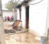 Salvan vivienda de incendio