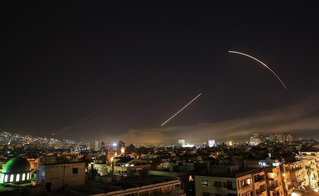El ataque militar contra Siria se limitó a tres objetivos, aseguró esta noche en Washington el Departamento de Defensa de Estados Unidos. Foto AP
