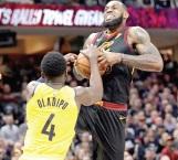 ¡Oladipo y Pacers opacan al 'rey'!