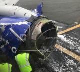 Muere persona por explosión en un motor de avión en EU