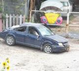 Vandalizan vehículo abandonado