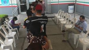 Atienden a cientos de personas en el SAT de Matamoros