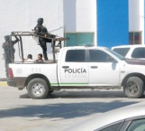 Quemaban llanta frente a los polis