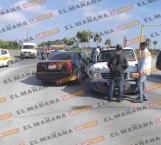 Choque deja una persona lesionada, en Reynosa