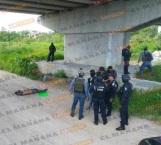 Hallan cadáver con narcomensaje, en Reynosa