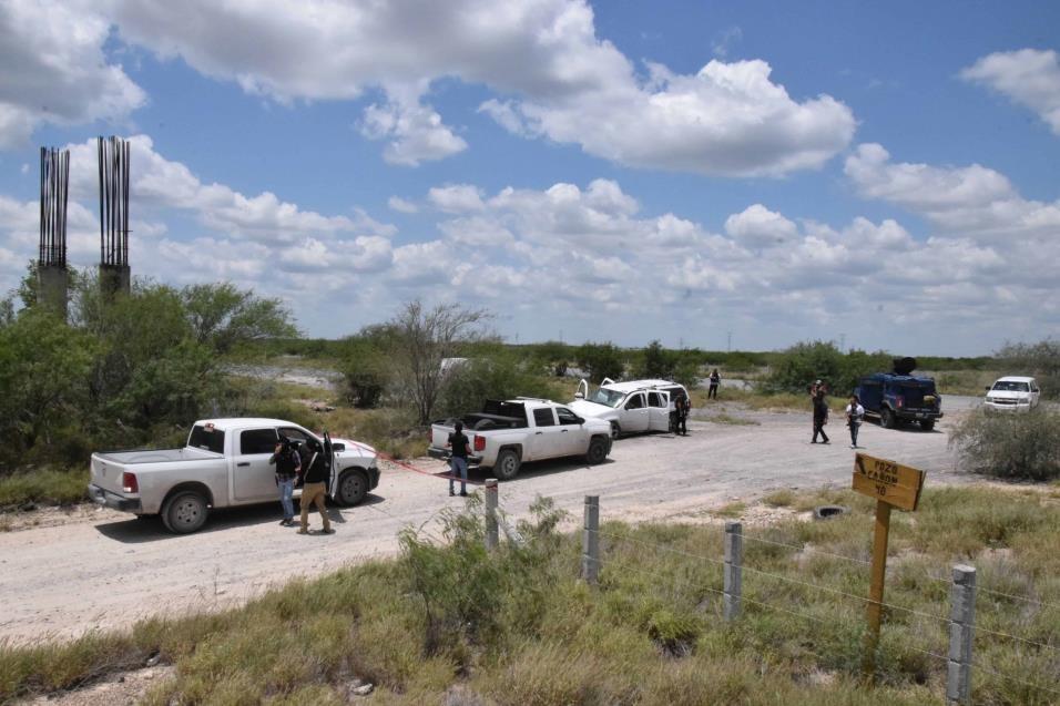 Investigan. El sitio fue acordonado por las autoridades ministeriales mientras practicaban las diligencias correspondientes.