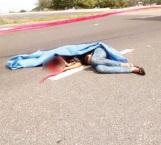 Muere aplastada por su camioneta