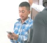 Arrestan a molesto albañil mariguano