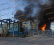 Se incendia maquiladora COPANORO en Reynosa
