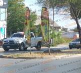 Atacan en Las Fuentes a policías con saldo de un agente herido