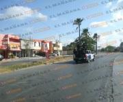 Atacan en Las Fuentes a policías estatales con saldo de un agente herido