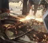 Destruyen 25 unidades con blindaje decomisadas a criminales