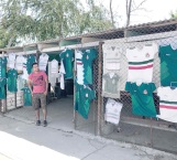 Fiebre del mundial en su apogeo en Reynosa con playeras a la venta