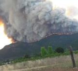 Alerta en NL por incendio en Coahuila