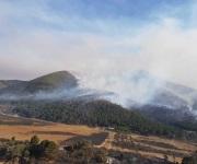 Coahuila gestiona mayor apoyo aéreo para combatir incendio forestal