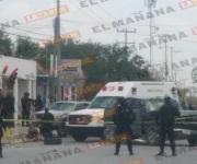 Reynosa: Matan a sicario y a mujer inocente en balacera