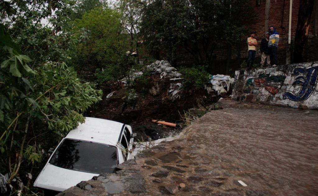 Se reportó también la inundación del túnel vehicular de la avenida Washington y 8 de Julio (Foto: Jorge Alberto Mendoza / EL UNIVERSAL)