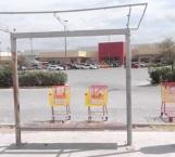 Demandan reparar las 'paradas' de camiones