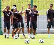Selección mexicana realiza trabajo regenerativo
