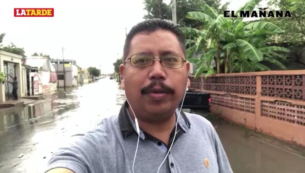Reportan autoridades al menos 20 colonias afectadas, en Matamoros