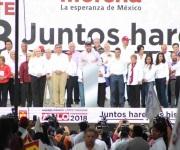 Asumido como ganador, AMLO llama a sumarle votos para tener también control del Congreso de la Unión