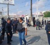 Protestan policías estatales contra su jefe en Reynosa