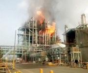 Explosión e incendio en planta Petro Temex de Altamira